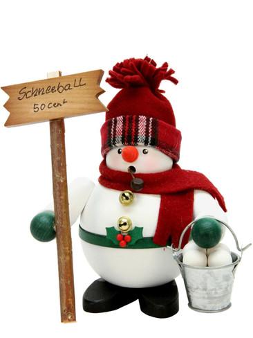 1-466 Snowman Incense Burner Christian Ulbricht Smoker