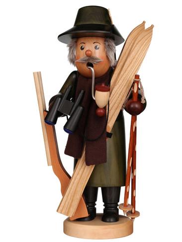 35-539 Hunter with Skis Incense Burner Christian Ulbricht Smoker