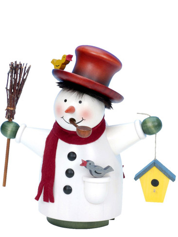 35-820 Snowman Incense Burner Christian Ulbricht Smoker