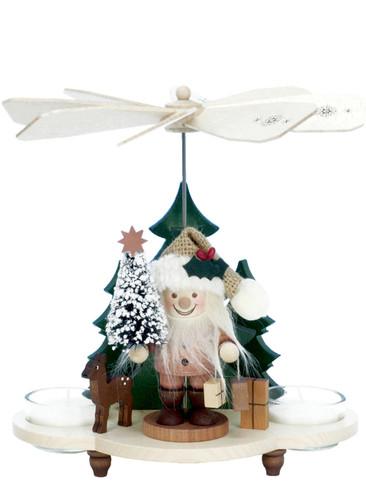 33-201 Santa Natural Ulbricht Tea Light German Pyramid