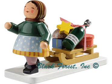 6224-10 Wendt and Kuhn Girl with Sleigh