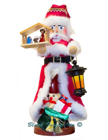 S3010 Nativity Musical Santa Steinbach Nutcracker