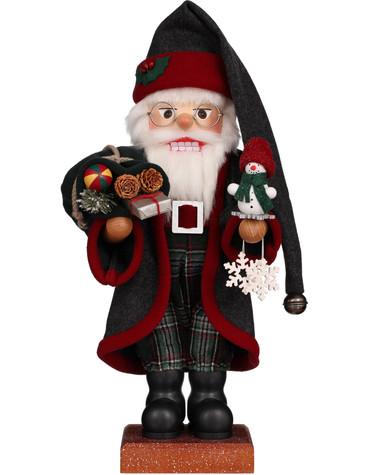 0-817 Christian Ulbricht Father Frost Santa Nutcracker