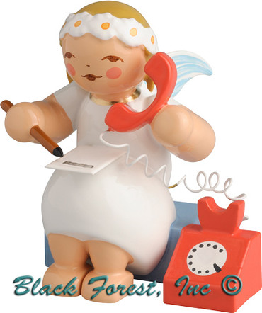 634-70-37 Wendt and Kuhn Marguerite Angel with Telephone