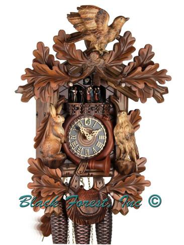 86277-5TNC Hones 8 Day Hunters Cuckoo Clock