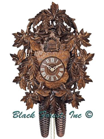 327-9 1 Bird 1 Day Anton Schneider Cuckoo Clock