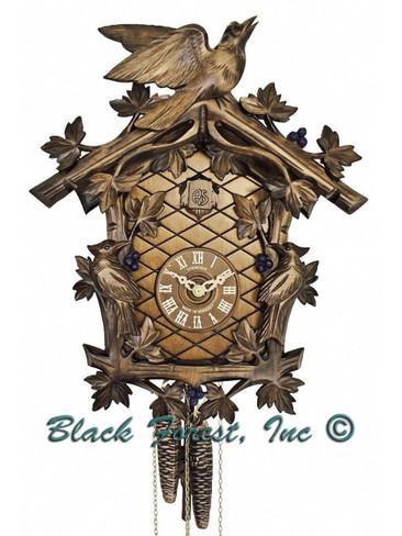 337-9 3 Bird 1 Day Anton Schneider Cuckoo Clock