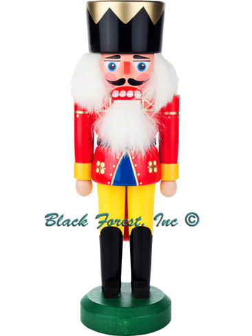 012-015-2 German Nutcracker King with Red Coat