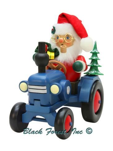 1-910 Ulbricht Incense Burner Santa on Tractor Smoker