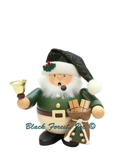 1-474 Green Santa Incense Burner Christian Ulbricht Smoker