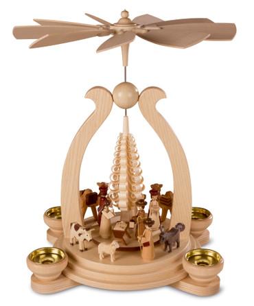 10352 Mueller Christmas Story Nativity Scene Pyramid