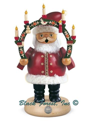 16131 Santa with Arch Mueller Smoker