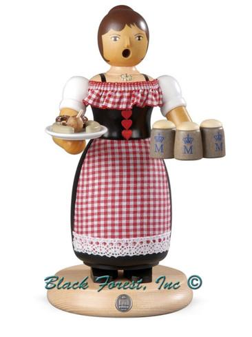 16669 Oktoberfest Waitress Mueller Smoker