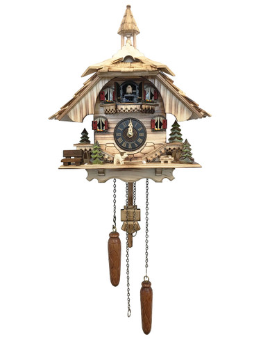 BF22-444BS Quartz Natural Musical Cuckoo Clock
