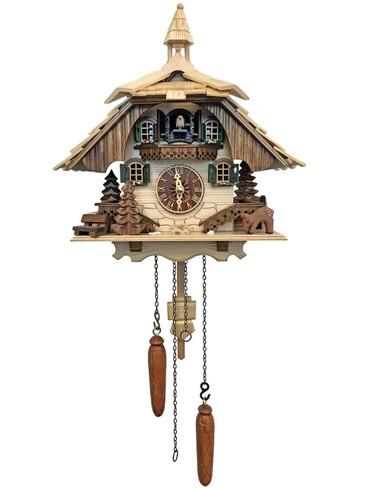 BF7-444BS Quartz Natural Musical Cuckoo Clock