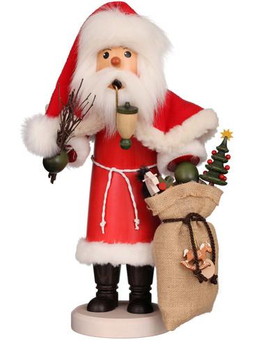 35-537 Ulbricht Incense Burner Santa with Sack Smoker