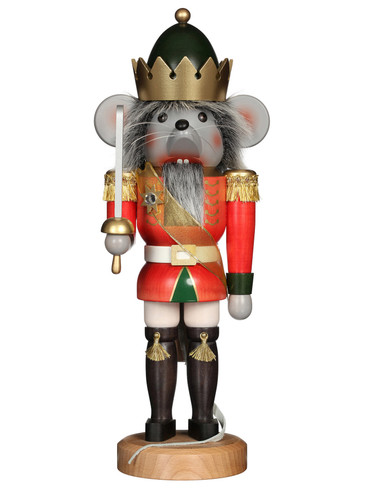 32-534 Ulbricht Stained Mouse King Nutcracker