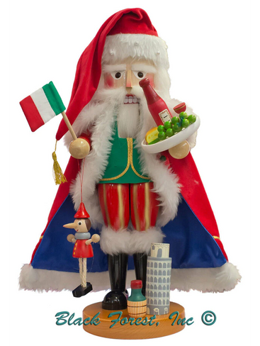 S1968 Italian Santa Steinbach Nutcracker from Germany