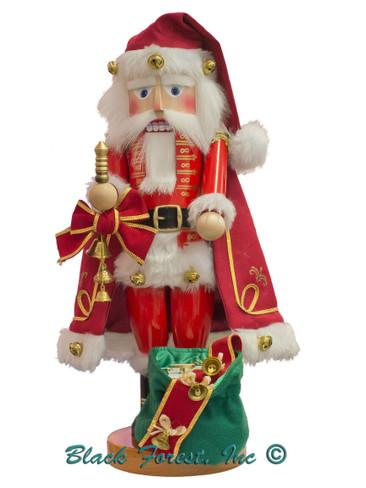 S3011 Jingle Bells Santa Steinbach Nutcracker from Germany