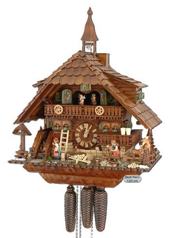 5087601P 8 Day Premium Cuckoo Clock from Germany
