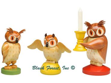 5262-1-5 Wendt and Kuhn Owl Set