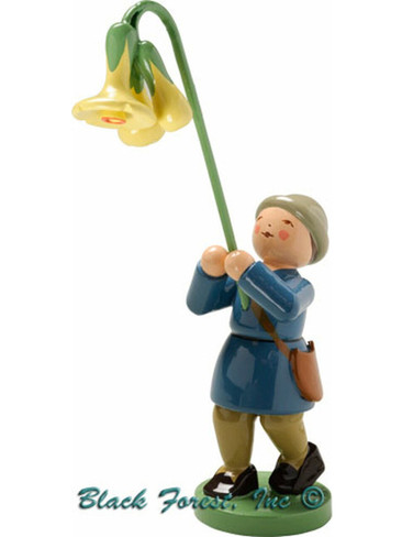 5248-2 Boy with Cowslip from Wendt and Kuhn