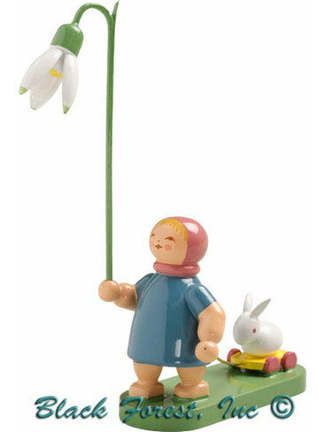 5248-6 Girl with Snowdrop from Wendt and Kuhn (