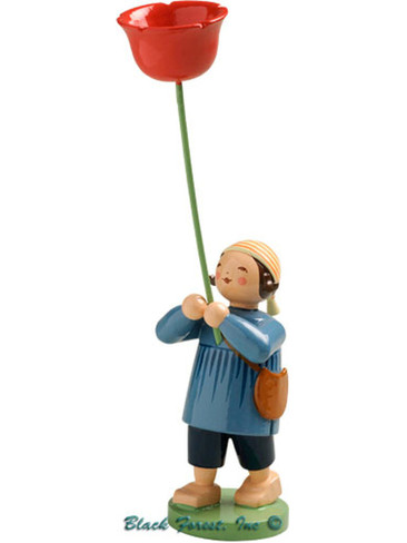 5248-8 Boy with Poppy from Wendt and Kuhn