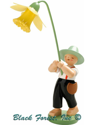 5248-13 Boy with Daffodil from Wendt and Kuhn