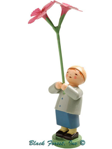 5248-17 Boy with Carnation from Wendt and Kuhn
