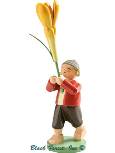 5248-20 Boy with Crocus from Wendt and Kuhn