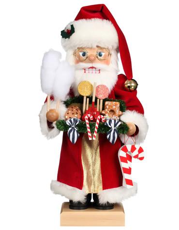 0-826 Candy Santa Christian Ulbricht Nutcracker