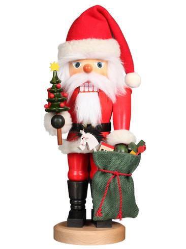 32-822 Santa with Toy Sack Christian Ulbricht Nutcracker