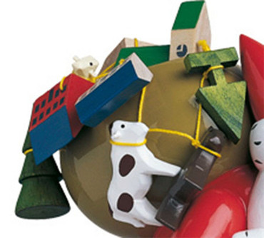6301-5H-K Wendt and Kuhn String of Toys for Santa 6301-5H
