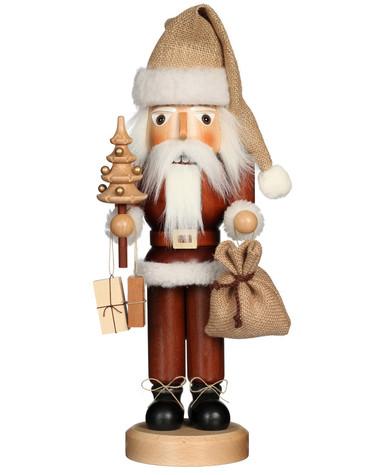 32-333 Ulbricht Santa with Tree Natural Nutcracker