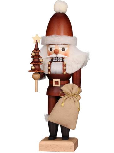 32-626 Ulbricht Natural Santa with Tree Nutcracker