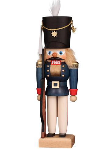 32-668 Ulbricht Blue Soldier Nutcracker