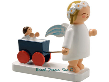 634-30-6 Wendt and Kuhn Marguerite Angel with Doll Carriage
