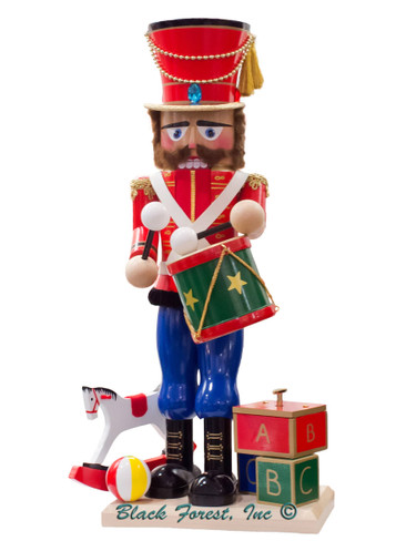 S3012 Musical Toy Soldier Steinbach Nutcracker from Germany