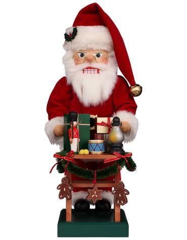 0-830 Ulbricht Gift Giver Santa Nutcracker