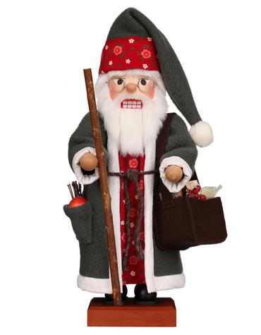 0-833 Ulbricht Santa with Fruit Nutcracker