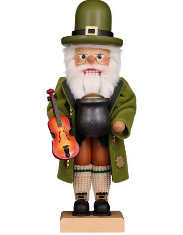 0-835 Ulbricht Irish Santa Nutcracker