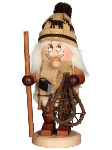 1-717 Ulbricht Incense Burner Dwarf Woodsman Smoker