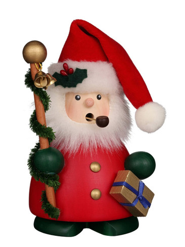 1-827 Red Santa Claus Christian Ulbricht Smoker