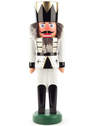 012-015-4 German White Nutcracker King