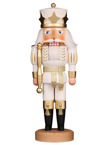 32-562 Ulbricht White Prince Nutcracker