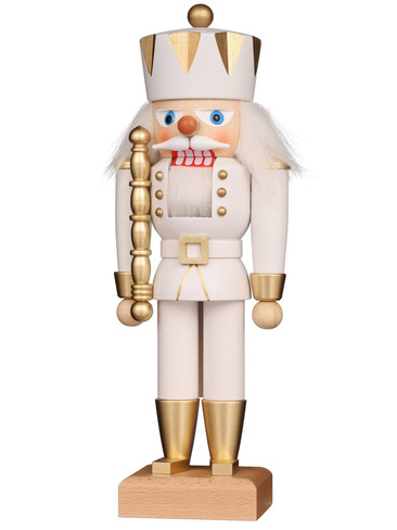 32-670 White King Nutcracker from Christian Ulbricht