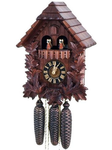 86442-4T Hones Feeding Birds 8 Day Cuckoo Clock