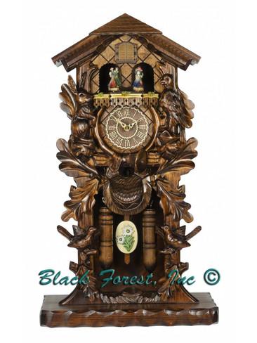 386QMT Quartz Mantle Musical Cuckoo Clock