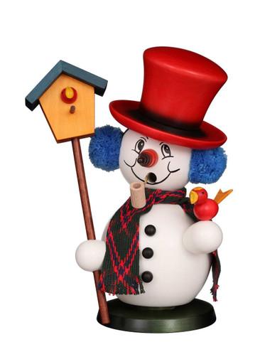 35-840 White Snowman Incense Burner Christian Ulbricht Smoker